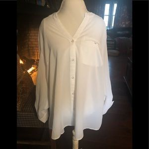 NEW w/out tags white blouse.